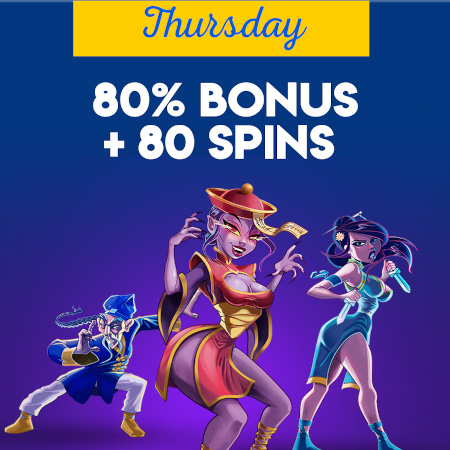 thursday bonus offer at Yabby Casino.