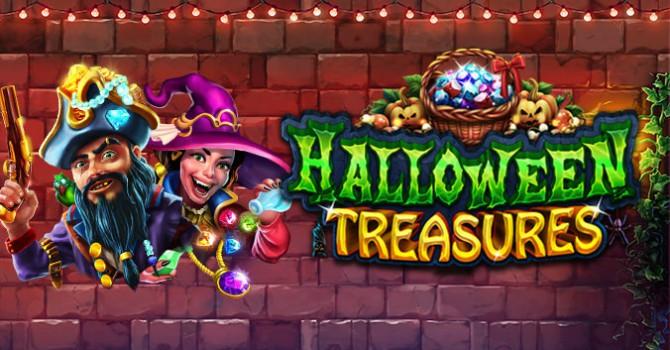 Halloween Treasures online pokie