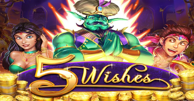 5 wishes online pokie