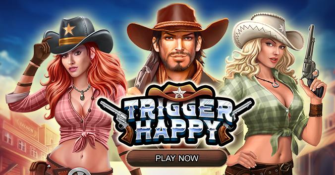 Trigger Happy RTG pokie play now