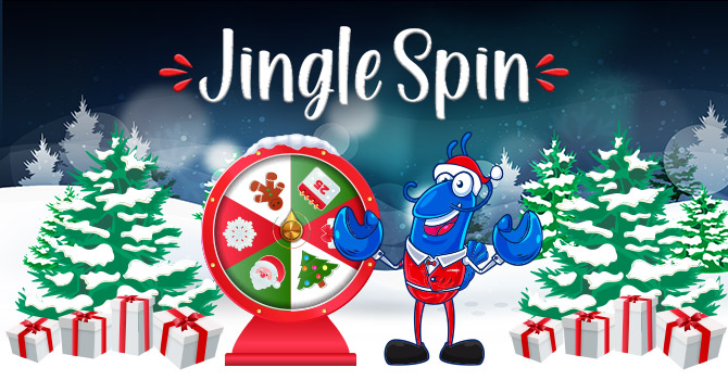 Jingle Spin Xmas Promotion