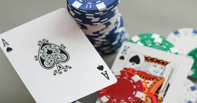doubling down blackjack