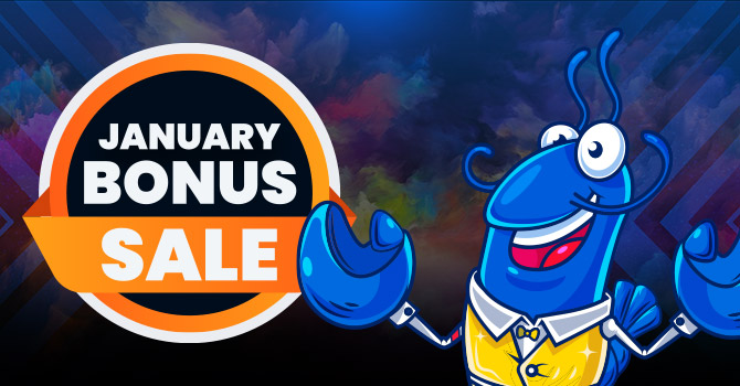 January Bonus Sale