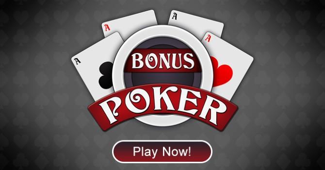Bonus poker play now