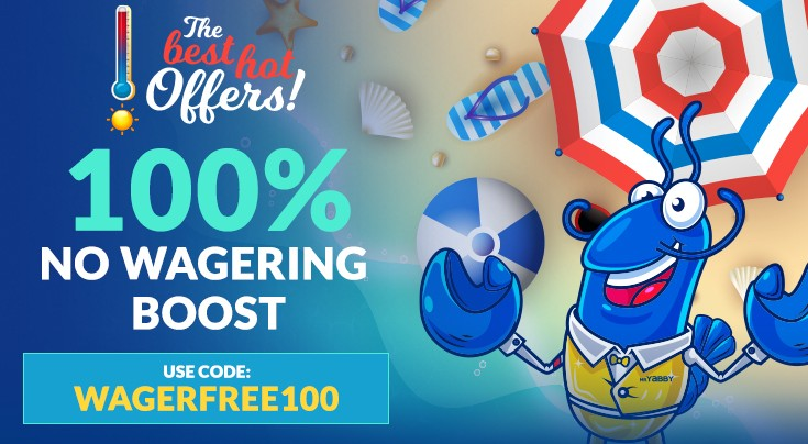 WAGERFREE100 claim now