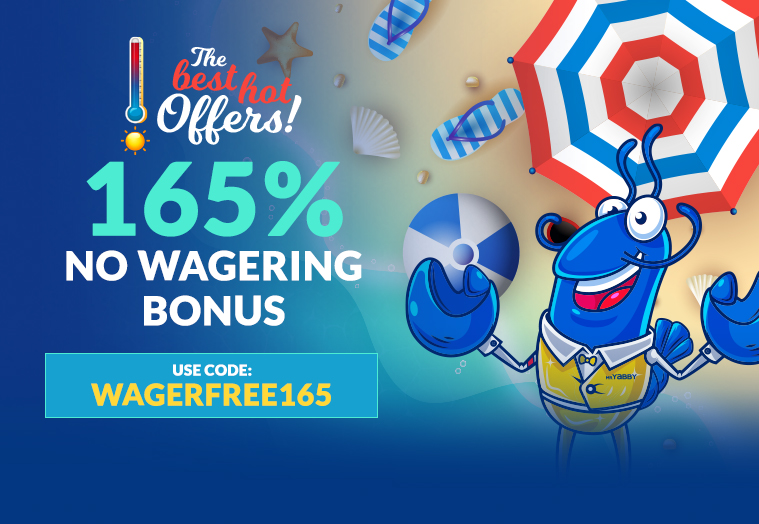 WAGERFREE165 claim now
