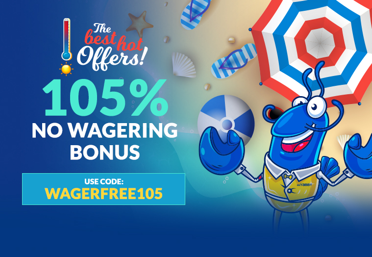 WAGERFREE105 claim now