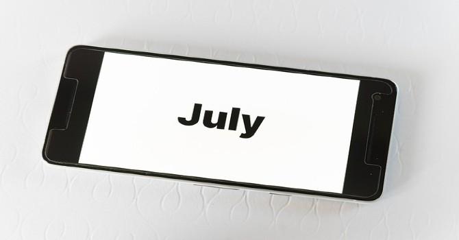 July's rewind